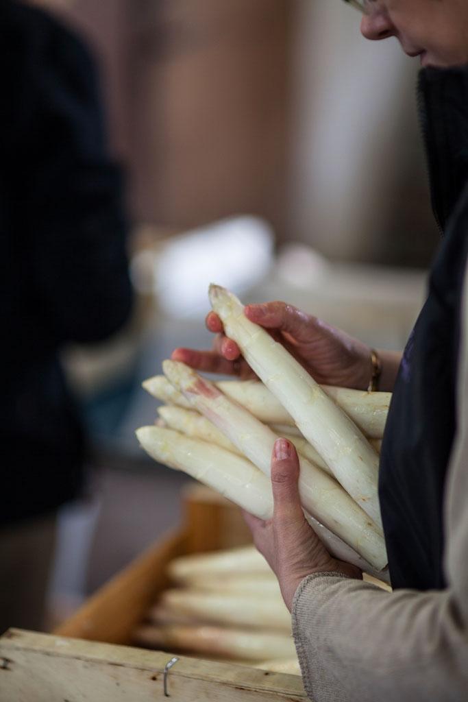 Blandine, marque d'asperges du blayais d'exception